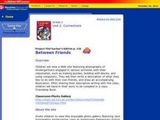Between Friends Lesson Plan