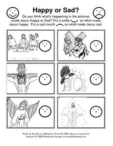 Bible Activities-- The Easter Story Lesson Plan