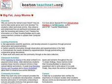 Big Fat, Juicy Worms Lesson Plan