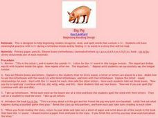 Big Pig Lesson Plan