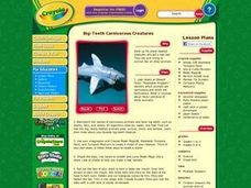 Big-Teeth Carnivorous Creatures Lesson Plan