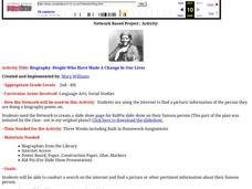 Biography -People Who Have Made A Change In Our Lives Lesson Plan