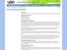 Biology: Cells and Chemical Changes Lesson Plan