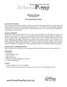 Biomass Energy Lesson Plan
