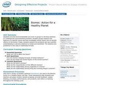 Biomes: Action for a Healthy Planet Lesson Plan