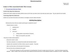 Biomes/ecosystems Lesson Plan