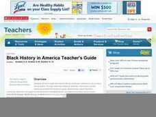 Black History in America Lesson Plan