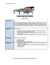 Black History Month Lesson Plan