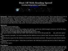 Blast Off With Reading Speed! Lesson Plan
