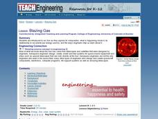 Blazing Gas Lesson Plan