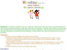 Blending Best Buddies Lesson Plan
