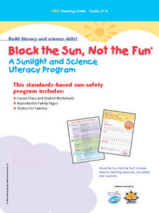 Block the Sun, Not the Fun Lesson Plan