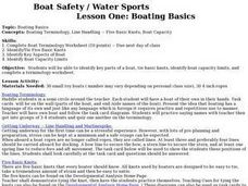 Boat Safety and Water Sports - Lesson 1 - Boating Basics Lesson Plan