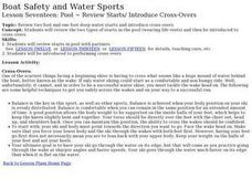 Boat Safety and Water Sports - Lesson 17 - Review Starts, Introduce Cross-Overs Lesson Plan