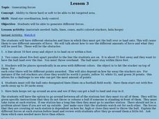 Bocce Ball - Lesson 3 - Generating Forces Lesson Plan