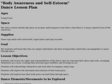 """Body Awareness and Self-Esteem"" Lesson Plan"