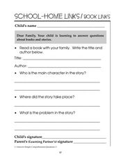 Book and Story Reviews Worksheet