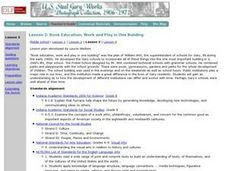 Book Education, Work and Play in One Building Lesson Plan