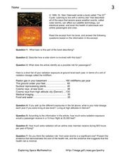 "Book Excerpt from ""The 23rd Cycle"" Worksheet"