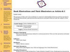Book Illustrations and Their Illustrators as Artists-K-3 Lesson Plan