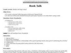 Book Talk Lesson Plan