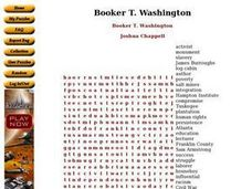 Booker T. Washington Worksheet