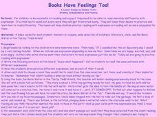 Books Have Feelings Too Lesson Plan