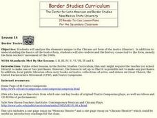 Border Teatro Lesson Plan