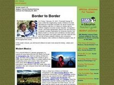 Border to Border Lesson Plan