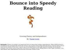 Bounce into Speedy Reading: Growing Fluency and Independence Lesson Plan