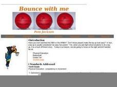 Bounce With Me Lesson Plan
