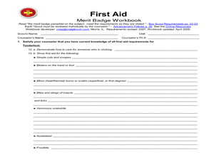 Printables. Bsa Merit Badge Worksheets. Jigglist Thousands of ...