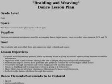 """Braiding and Weaving"" Dance Lesson Plan Lesson Plan"
