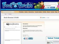 Brain Boosters-Money & Addition with Regrouping Worksheet