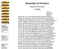Printables Branches Of Science Worksheet science word search puzzles for high school maker math worksheet miss durant s class science