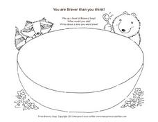 Bravery Soup Bowl Worksheet