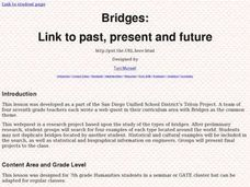Bridges:Links to History Lesson Plan