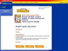 Bright Lights, Big Cities Lesson Plan
