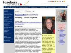 Bringing Cultures Together Lesson Plan