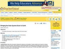 Bringing the Solar System Down to Earth Lesson Plan