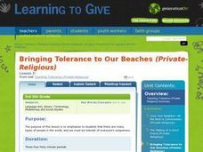 Bringing Tolerance to Our Beaches Lesson Plan