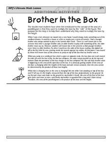 Brother In The Box Lesson Plan
