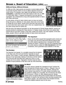 a review of history of brown v board of education Book review: simple justice: the history of brown v burke, book review: simple justice: the history of brown v board of education and black america's struggle for ordinary group who guided the litigation leading to brown v board of education' and its enormous progeny of case.