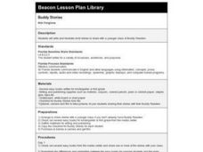 Buddy Stories Lesson Plan