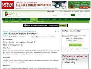 Buffaloes Before Breakfast Lesson Plan