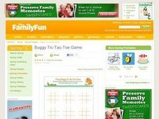 Buggy Tic-Tac-Toe Game Lesson Plan
