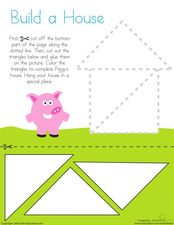 Build A House Worksheet
