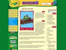 Build the Great Wall Lesson Plan Lesson Plan