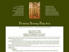 Building a Tree Stand or Tree House Lesson Plan