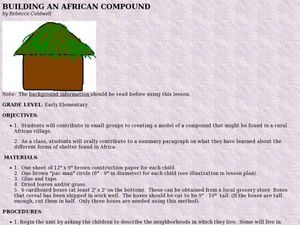 Building An African Compound Lesson Plan